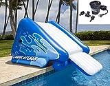 Intex Nuevo. Piscina Inflable Kool Splash-Tobogán de Agua + Quick Fill Bomba de Aire