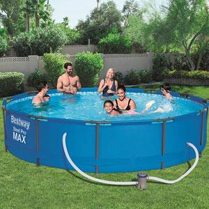 piscinas desmontables segunda mano